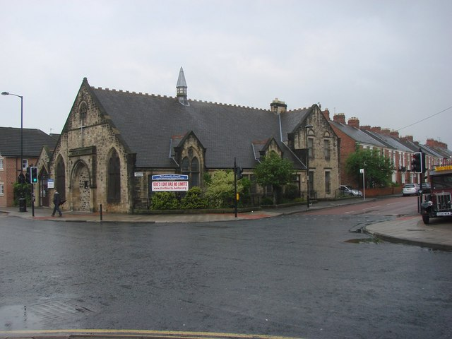 St  Cuthbert's Church, Heaton Road.