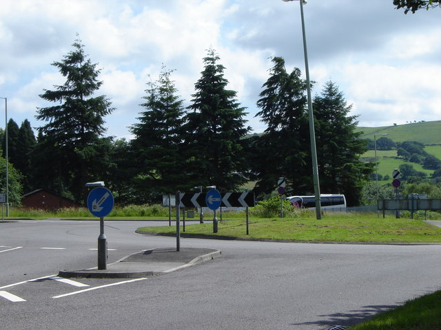Small Roundabout, near bigger one