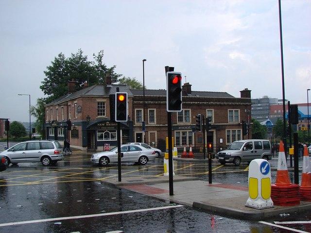 The New Bridge Pub.