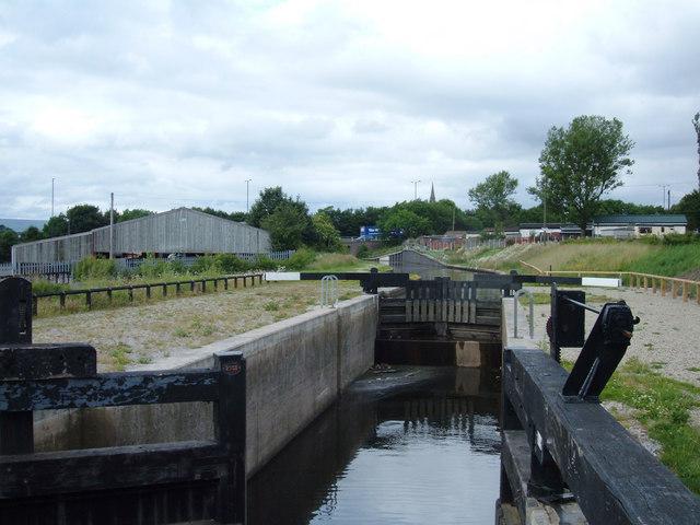 Trub Lock, Rochdale Canal