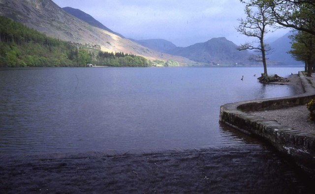 Outflow weir from Crummock Water
