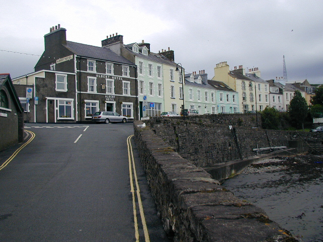Port St Mary, the Albert Hotel