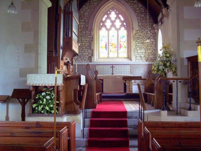 All Saints' Church, Kington Magna - Interior