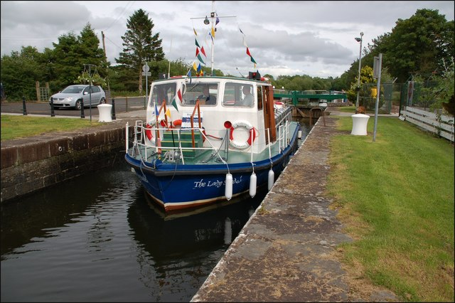 "The ""Lady Sandel"" on the Bann at Movanagher"
