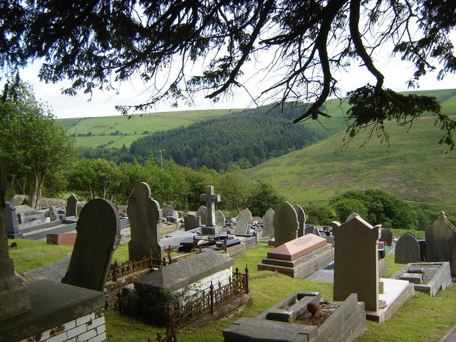 Cemetery adjacent to St. Tyfodwg's Church
