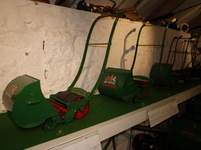 Lawnmowers at Trerice