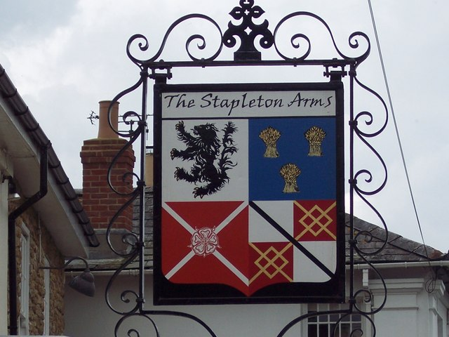 Sign for the Stapleton Arms, Buckhorn Weston