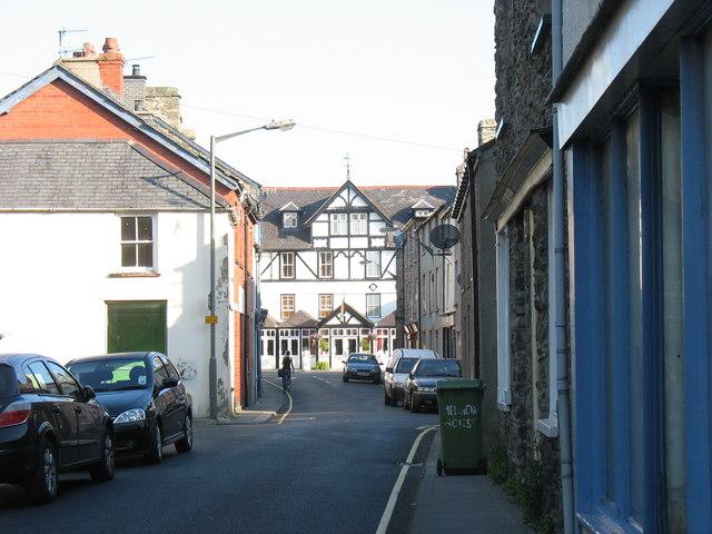 Y Llew Gwyn - The White Lion from Tegid Street