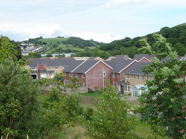 New Housing, near the main junction at Blackmill