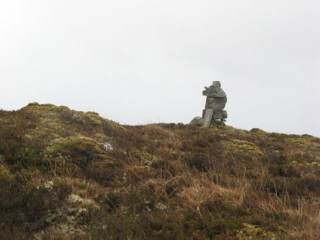 Cairn on the pass