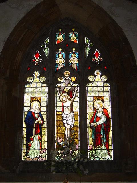 East Window, St. Cein's Church, Llangeinor