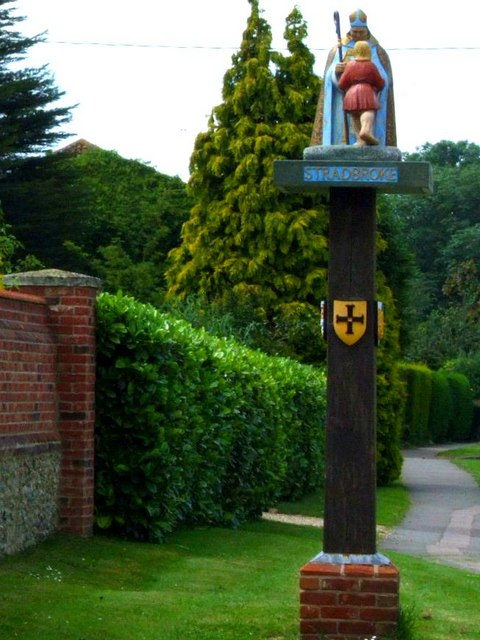 Stradbroke village sign