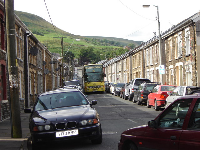 Classic Valleys terraces - with vehicles