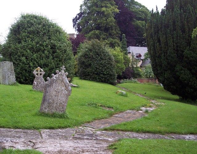 Churchyard, St John the Baptist, Buckhorn Weston