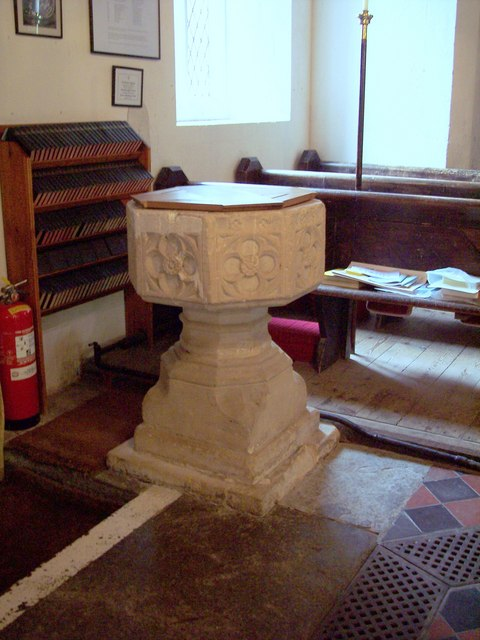 The Parish Church of St John the Baptist - Font