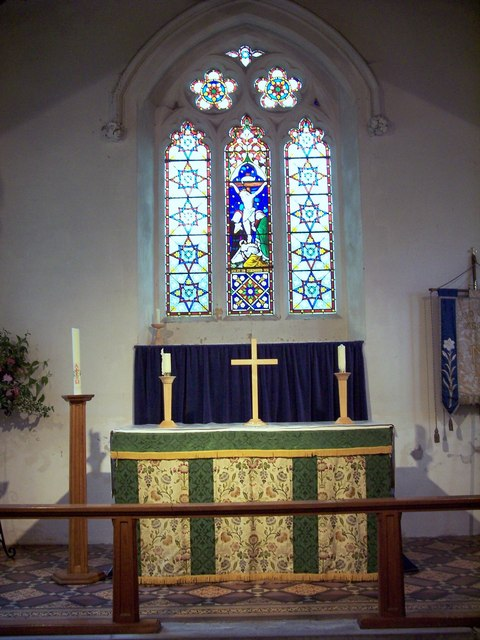 The Parish Church of St John the Baptist - Interior
