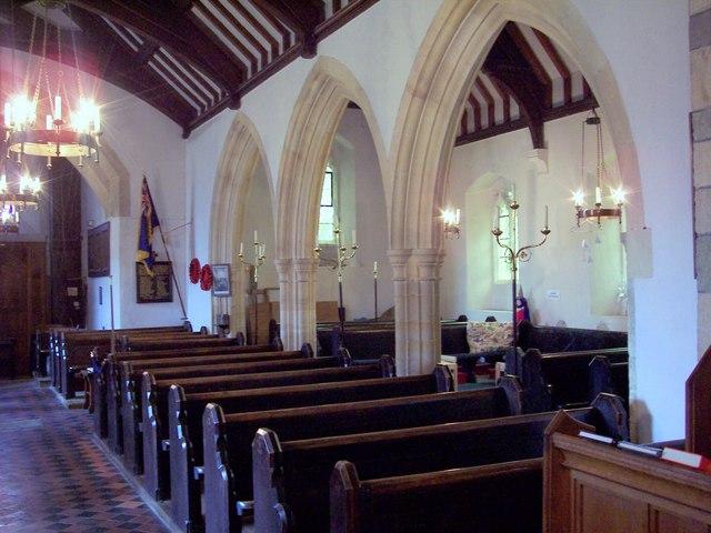 The Parish Church of St John the Baptist - Interior