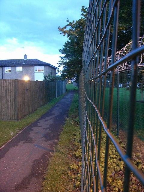 Perimeter fence, DMC Kineton