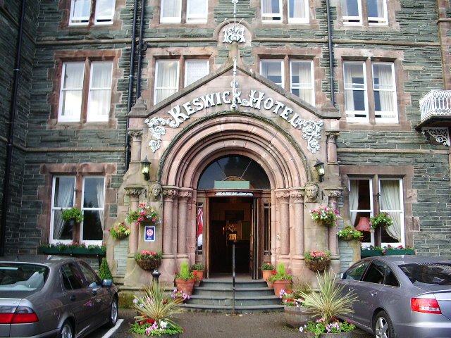 Entrance to the Keswick Hotel