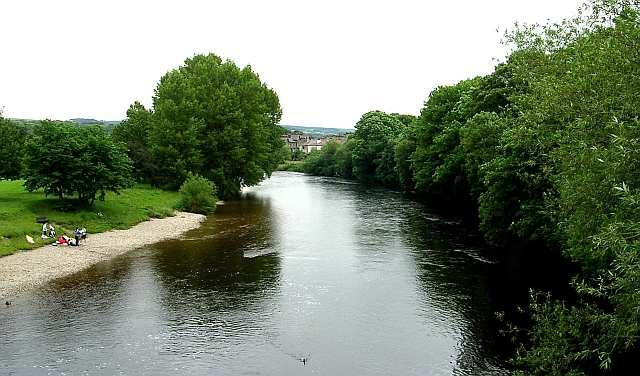 River Wharfe from New Brook Street Bridge