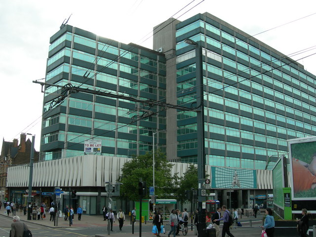 Corner of George Street and Dingwall Road, Croydon