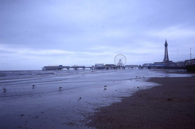 Blackpool Central Pier and Tower