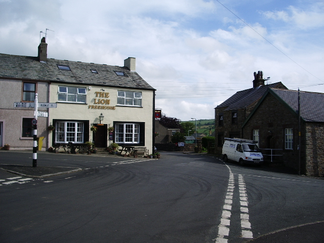 The Lion and crossroads, Ireby