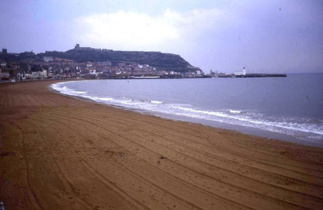 Clean beach at Scarborough