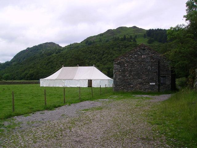 Dinah Hoggus Camping Barn and Tent
