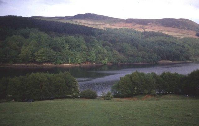 Upper Ladybower reservoir