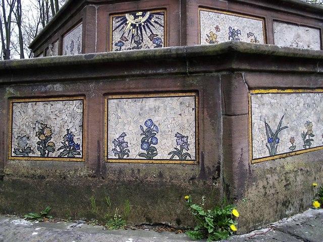 Burdett-Coutts sundial mosaics