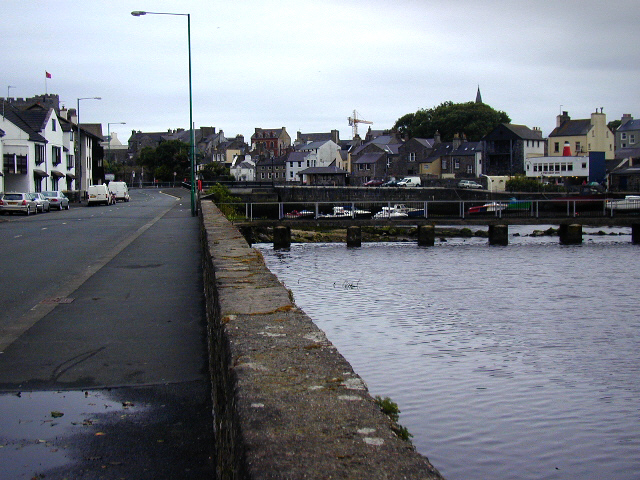 Silver Burn approaching Castletown harbour