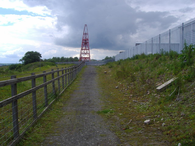 Winding Gear at the former Frances Colliery