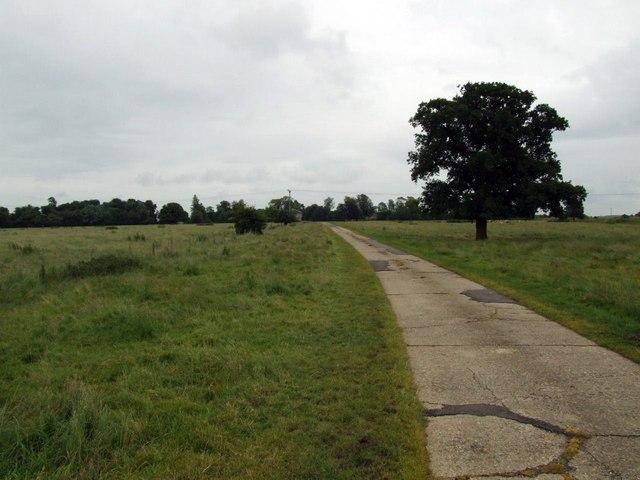 Track to Monk's Hardwick