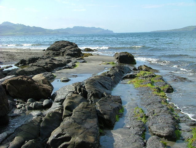 Staffin Bay from An Corran