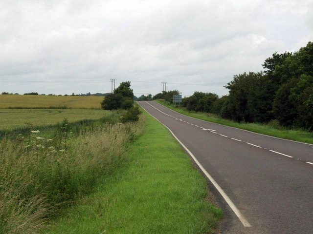 Ermine Street to the North of Papworth Everard