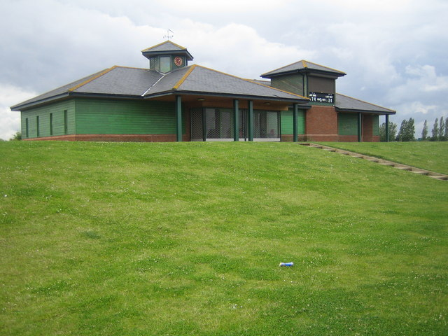 Southend: Garon Park cricket pavilion