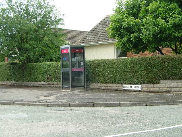 Tutshill (Junction of Sedbury Lane & Bigstone Grove)