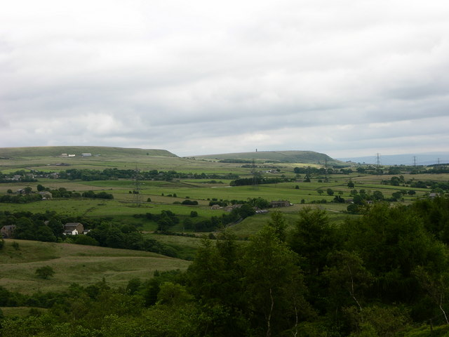 View South from north of Edgworth