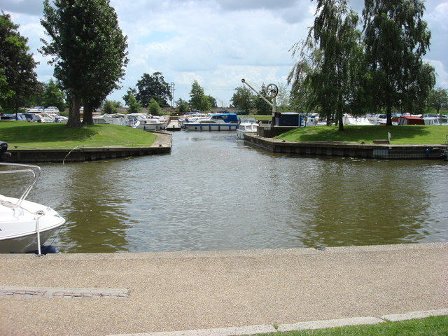 Marina and River Great Ouse