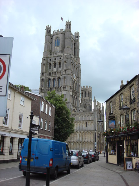 Ely Cathedral from Minster Place
