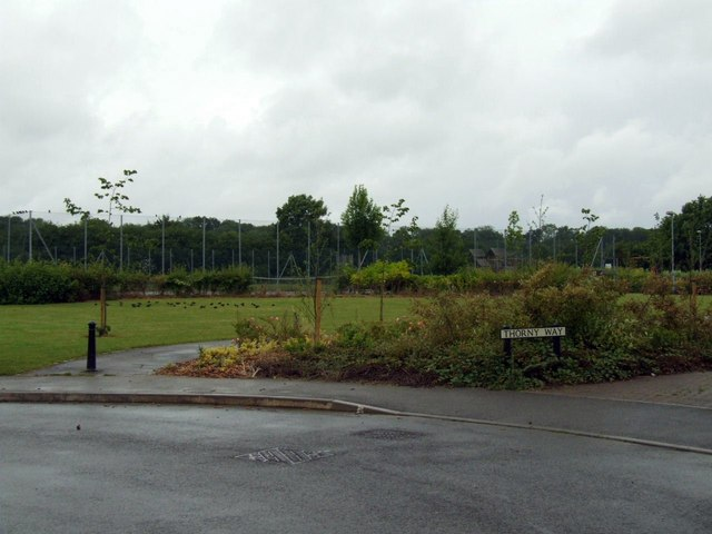 Tennis courts off Thorny Way