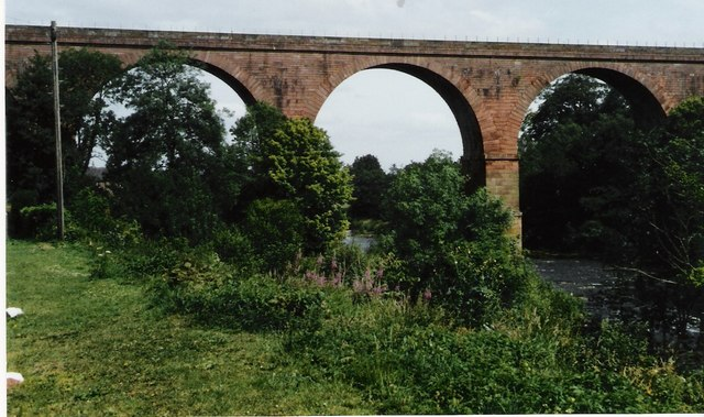 Railway viaduct at Wetheral