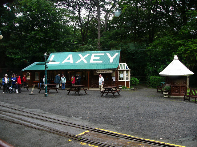 Laxey station, Manx Electric Railway