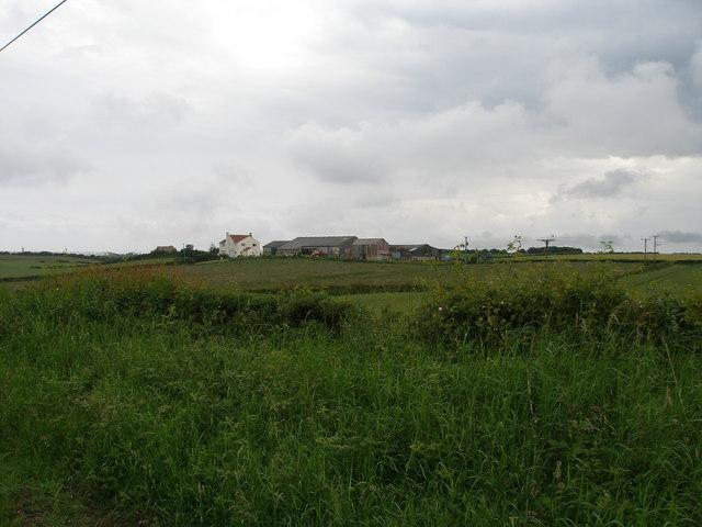 Westmoor Farm from Durham Lane