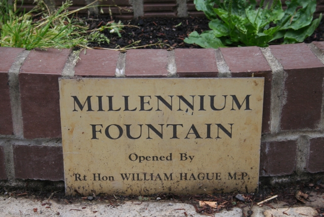 Millennium Fountain Plaque