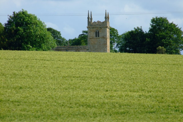 St Wilfrid's behind the Wheat