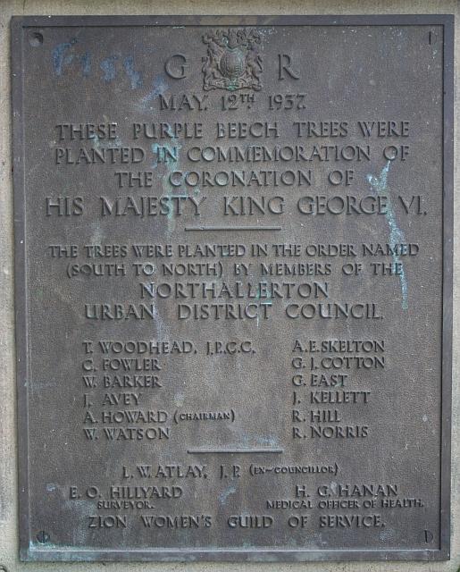 Coronation Plaque