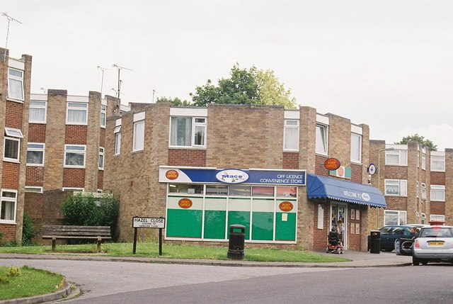 Andover: corner shop – a shop with corners