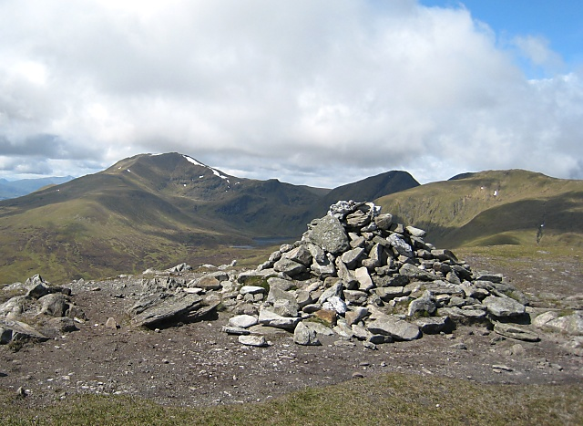 Meall Greigh - Summit Cairn